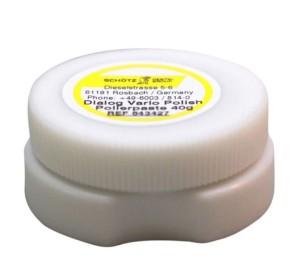 Für mich die beste Polierpaste für wirklich alle Materialien, wie PEEK, Composite, Keramik, Edelmetall oder NEM