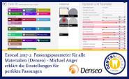 2017-NEW EXOCAD TUTORIAL DENSEO 2017-2 -  Passungsparameter für alle Materialien