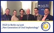 "DGZI ""New Generation of Oral Implantology"""