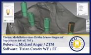 Modellation eines Dolder-Macro-Steges auf Implantaten (16-26)  - Teil 3