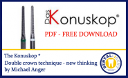 The Konuskop® - double crown technique