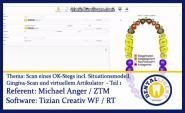 Scan eines OK-Stegs incl. Situ / Gingiva-Scan und virt. Arti. Teil 1