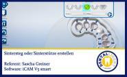 iCAM V5 smart- Sintersteg erstellen