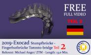 2019 - EXOCAD - TEIL 2 - TORONTO-BRIDGE - Fingerhutbrücke