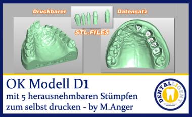 OK-Modell D1-STL Daten zum selbst drucken