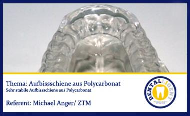 GRATIS - Aufbissschiene aus Polycarbonat