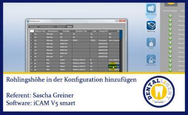 iCAM v5 smart- Neue Blank-Höhen anlegen
