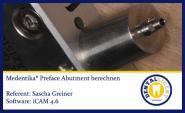 iCAM 4.6 Medentika Preface-Abutment berechnen