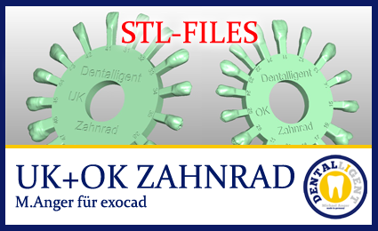 STL-Files - UK + OK Zahnrad by M.Anger